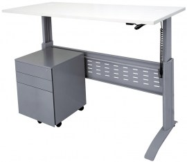 SE- Span Electric Straight Desk with GMP3 PS (2)