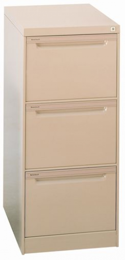 Brownbuilt 3 Drawer Filing Cabinet