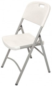 Plastic folding chair front7