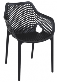 TREND AIR Cafe Chair BLACK
