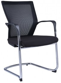 WM Candy Cantilever Mesh Meeting Chair