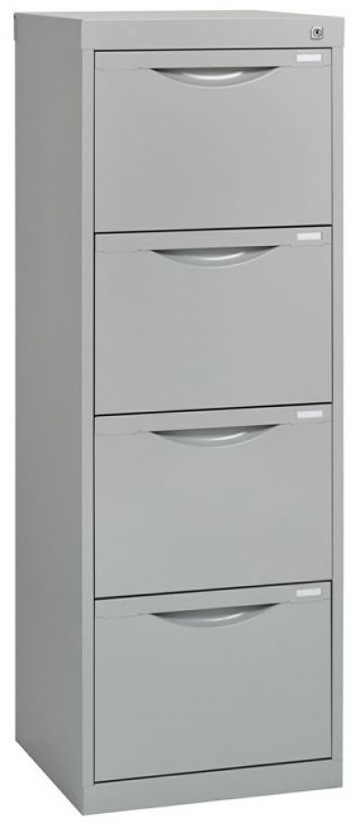 Slimline 4 Drawer Filing Cabinet