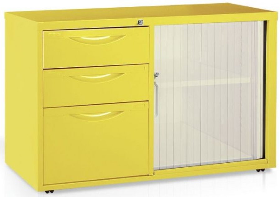 Mobile Tambour Caddie (YELLOW)_product_product
