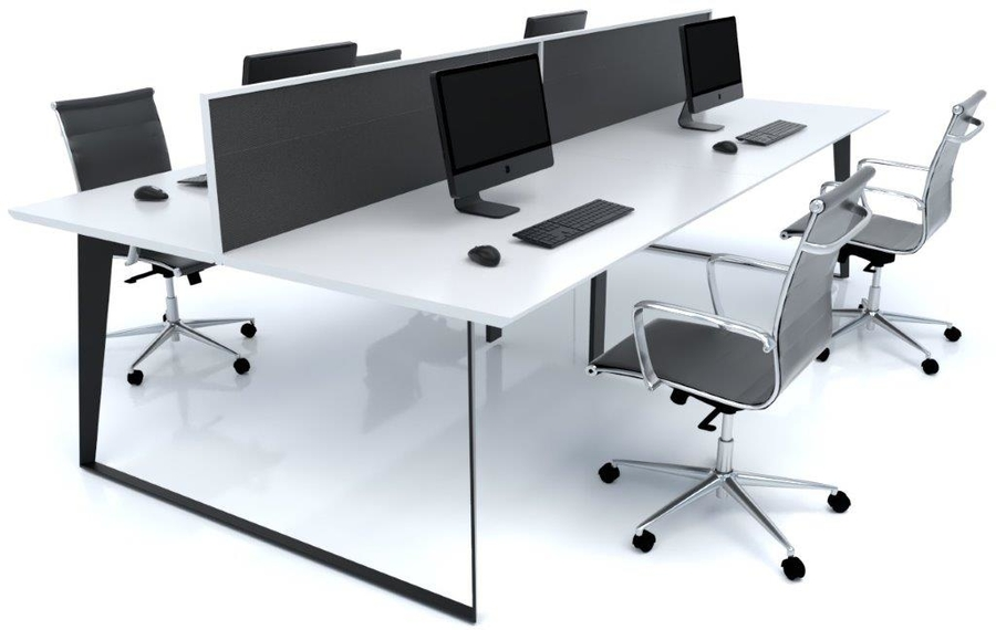 Razor 4 Person Workstation White w screen.jpg